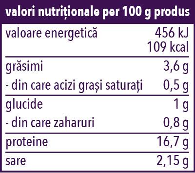 Valori Nutritionale