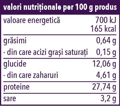 Valori Nutritive